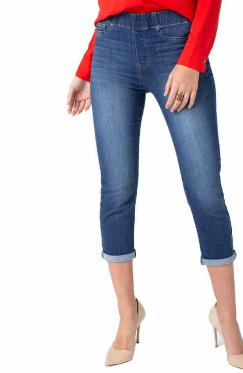 Jag Jeans Blair Crop Wide Leg Ponte Pants by JAG