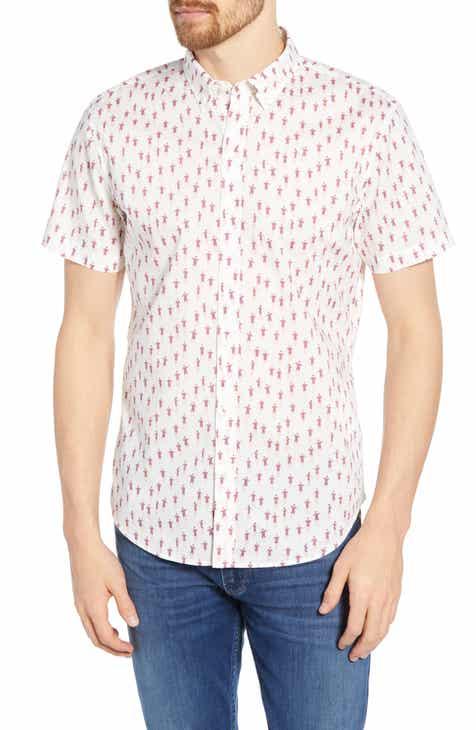 ac257f73e291 Bonobos Riviera Slim Fit Muscle Man Print Cotton Sport Shirt
