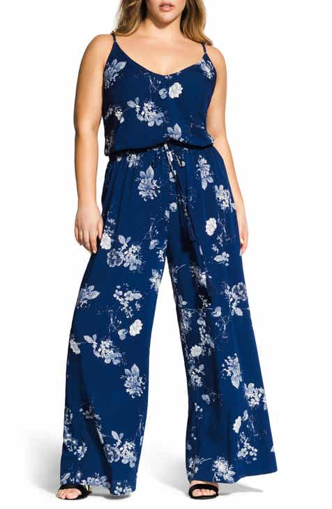 0dfd046ac87 City Chic Sapphire Jumpsuit (Plus Size)
