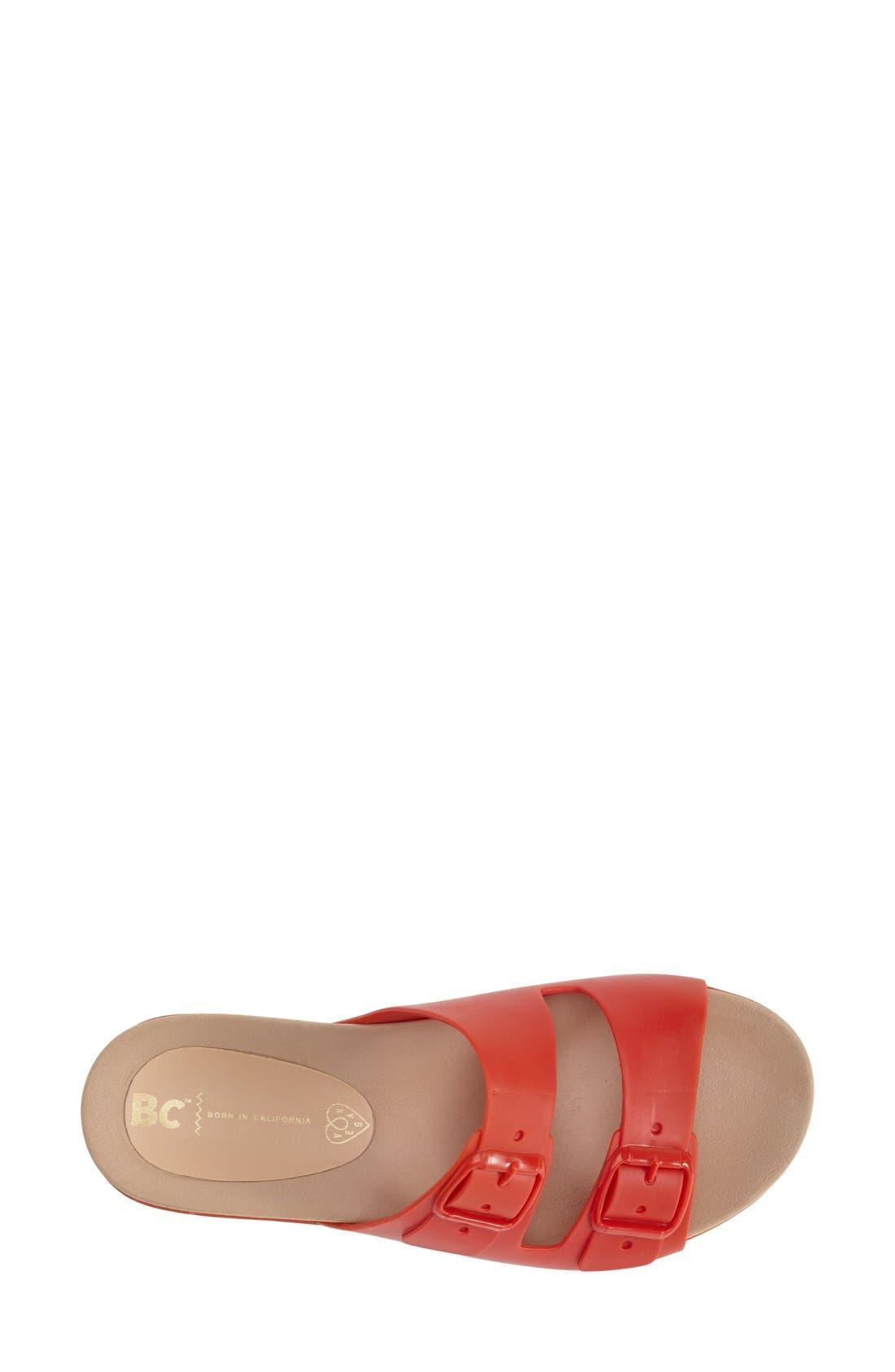 Alternate Image 3  - BC Footwear 'Dim The Lights' Slide Sandal (Women)
