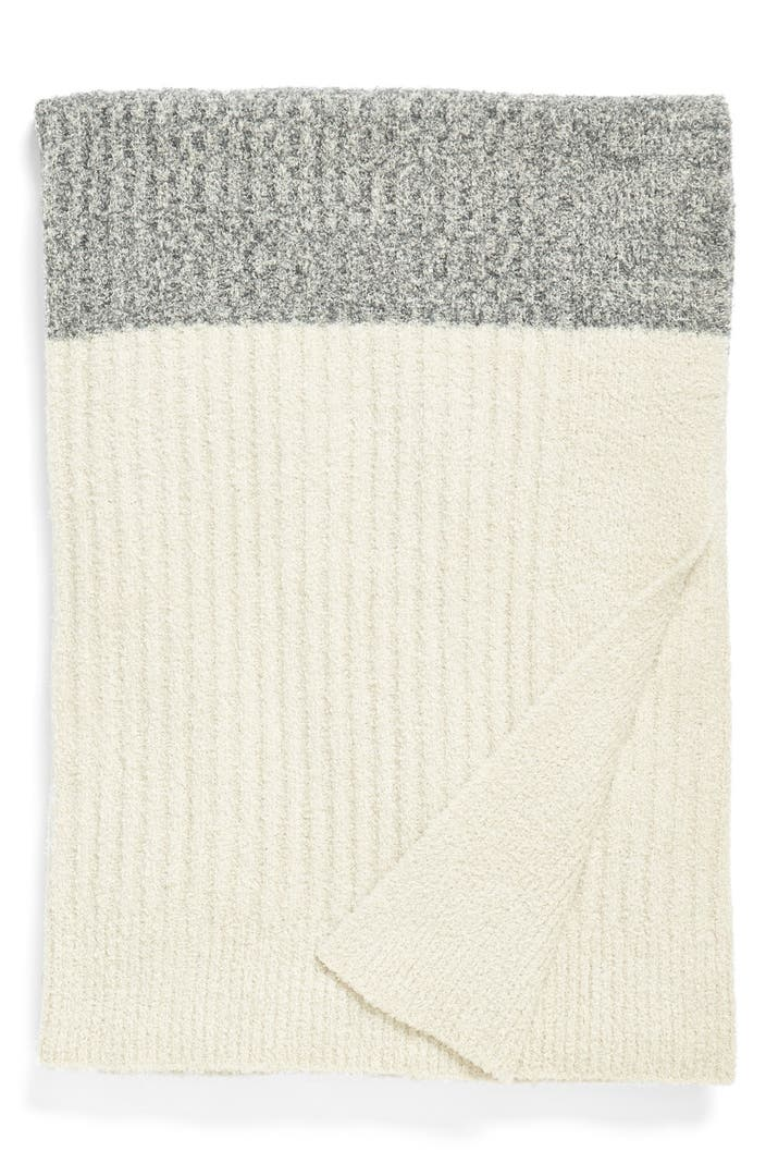 Barefoot Dreams 174 Heathered Stripe Throw Nordstrom