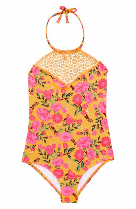Billabong Sun Dream One-Piece Swimsuit (Little Girls & Big Girls)