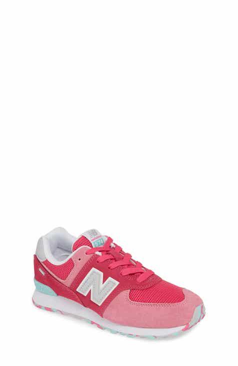 3d67ff7bd13 New Balance 574 Serpent Luxe Sneaker (Baby