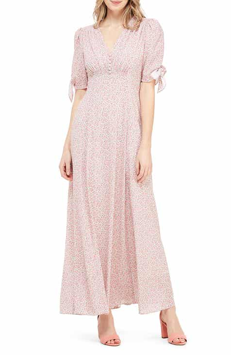 8f4efd8309d9 Gal Meets Glam Collection Ditsy Floral Print Maxi Dress