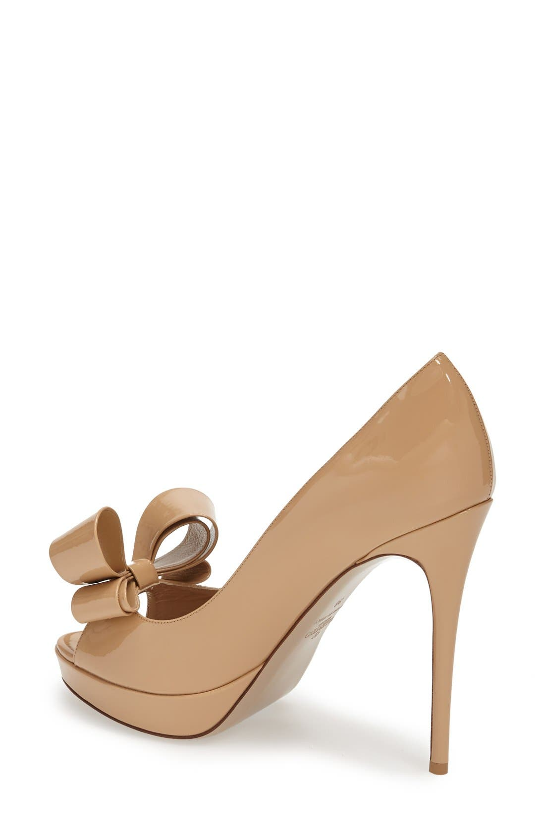 Alternate Image 4  - VALENTINO GARAVANI Couture Bow Platform Pump (Women)