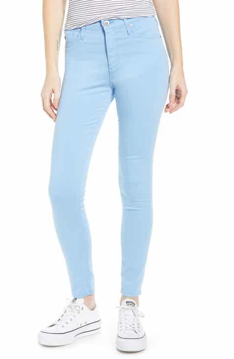 aeb305e8ee AG Farrah High Waist Ankle Skinny Jeans