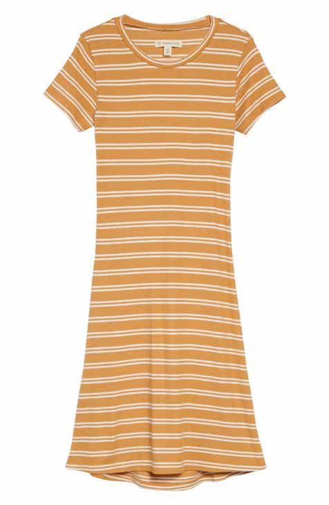 145f4d8a126 Tucker + Tate Coastal Stripe Split Back Dress (Big Girls)