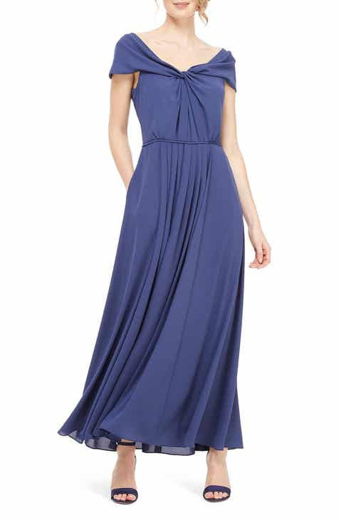 c90f0aeaac Gal Meets Glam Collection Off the Shoulder Maxi Dress