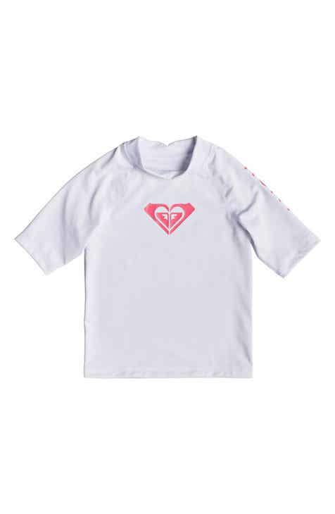 d7220673b Roxy Whole Hearted Rashguard (Toddler Girls, Little Girls & Big Girls)