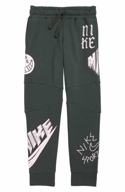 a211456bcbce Nike Sportswear Energy GFX Fleece Jogger Pants (Little Boys   Big Boys)