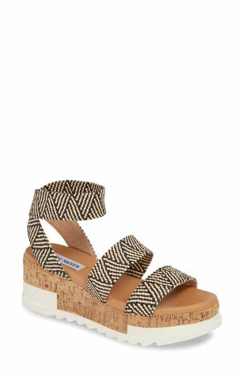 34f08b2a541c Steve Madden Bandi Platform Wedge Sandal (Women)