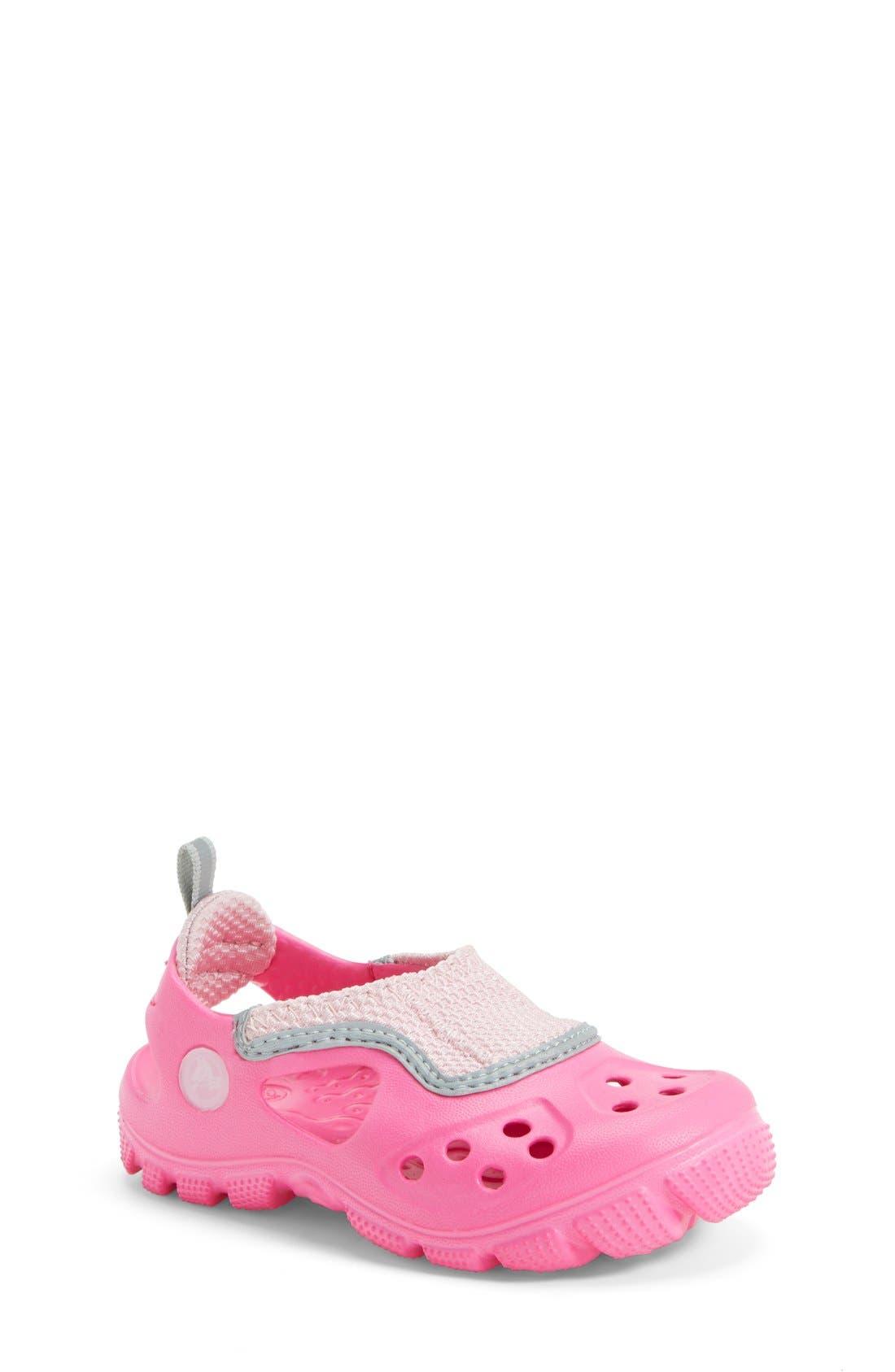 Main Image - CROCS™ 'Micah II' Sandal (Walker & Toddler)