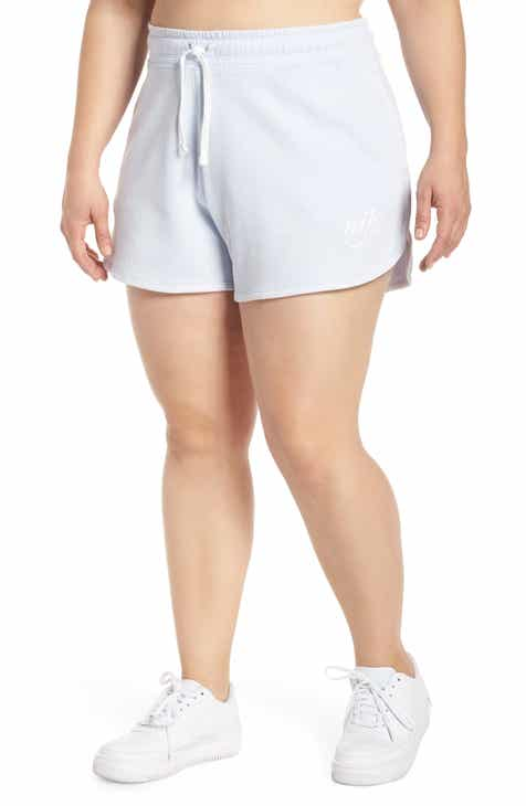 new product 07516 112bb Nike French Terry Shorts (Plus Size)