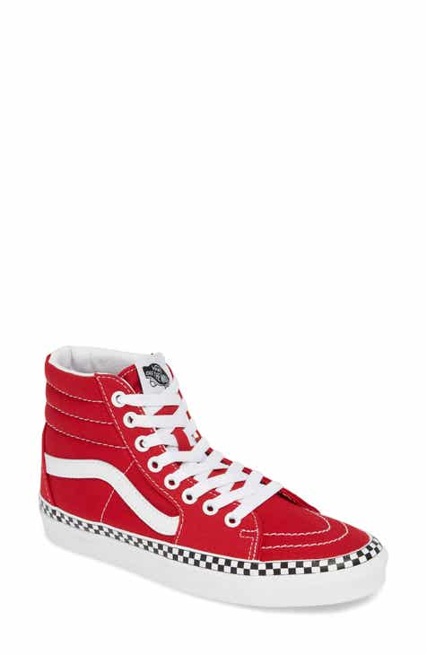 afb048006739 Vans Sk8-Hi Check Foxing Sneaker (Women)