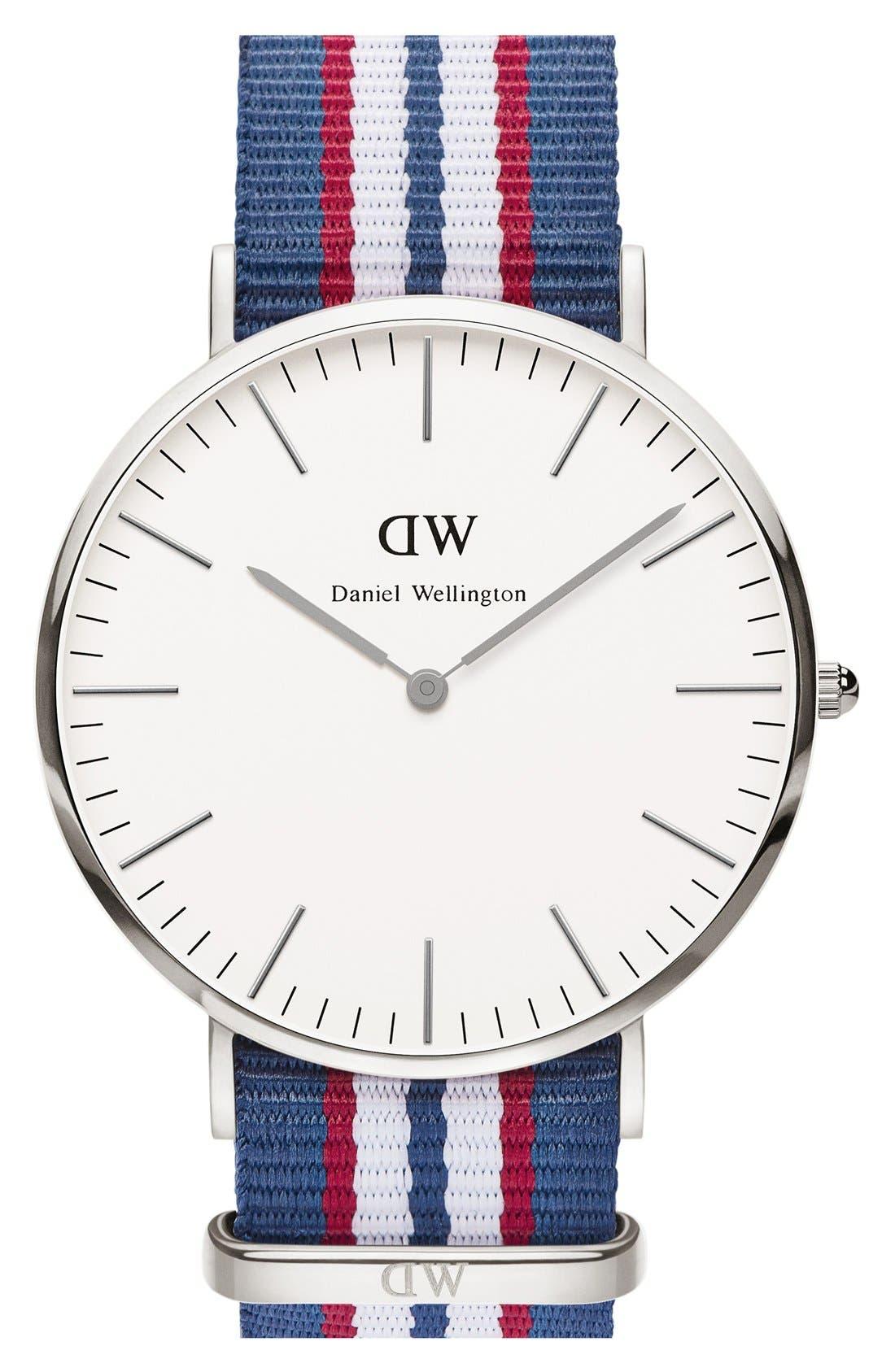 Main Image - Daniel Wellington 'Classic Belfast' NATO Strap Watch, 40mm