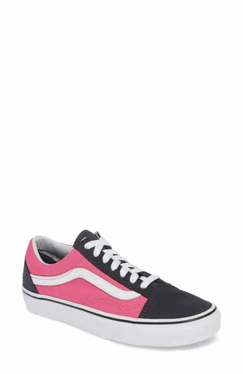 210a54f266 Pink Lace-Up Sneakers for Women