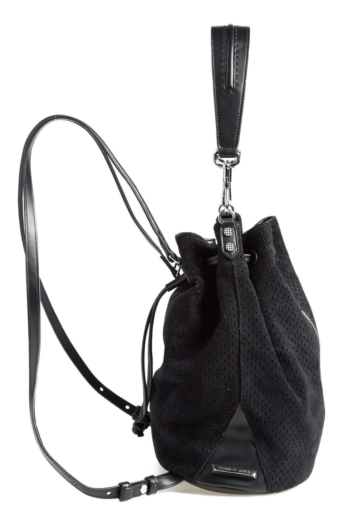 Alternate Image 5  - Elizabeth and James 'Cynnie' Perforated Sling Backpack