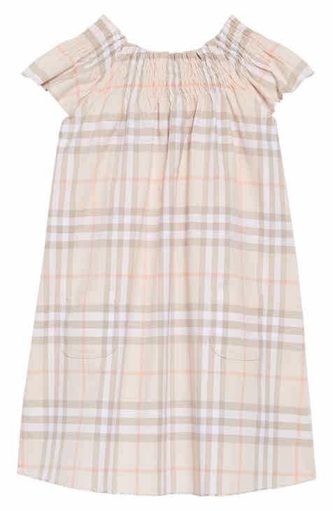 83ffd93107 Burberry Vinya Ruffle Sleeve Shift Dress (Toddler Girls)
