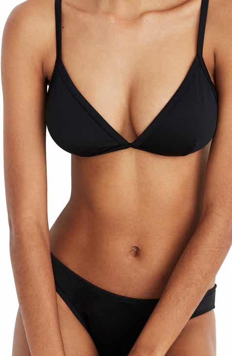 c9d238e028 Madewell Second Wave Cutout Bralette Bikini Top