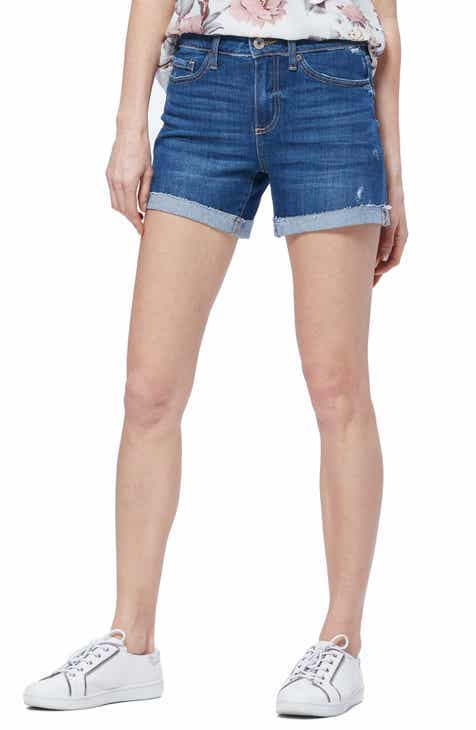 ddb9e9dec549 PAIGE Vintage - Parker Relaxed Denim Shorts (Marquette Destructed)