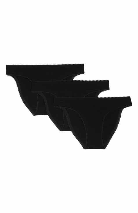 3cb163a29 On Gossamer 3-Pack Cabana Cotton Hip Bikinis