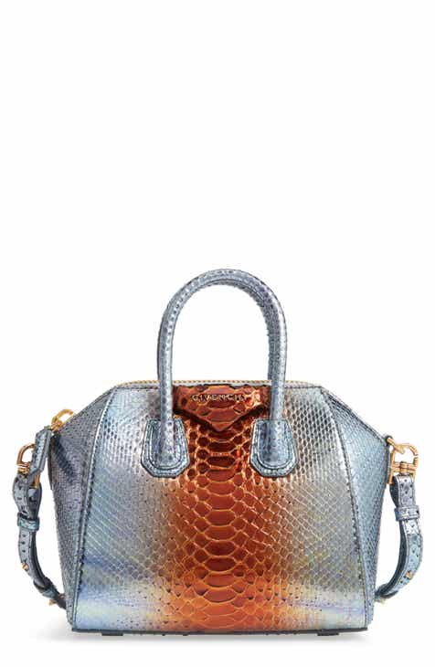 Givenchy Mini Antigona Genuine Python Satchel cfb87ef277703