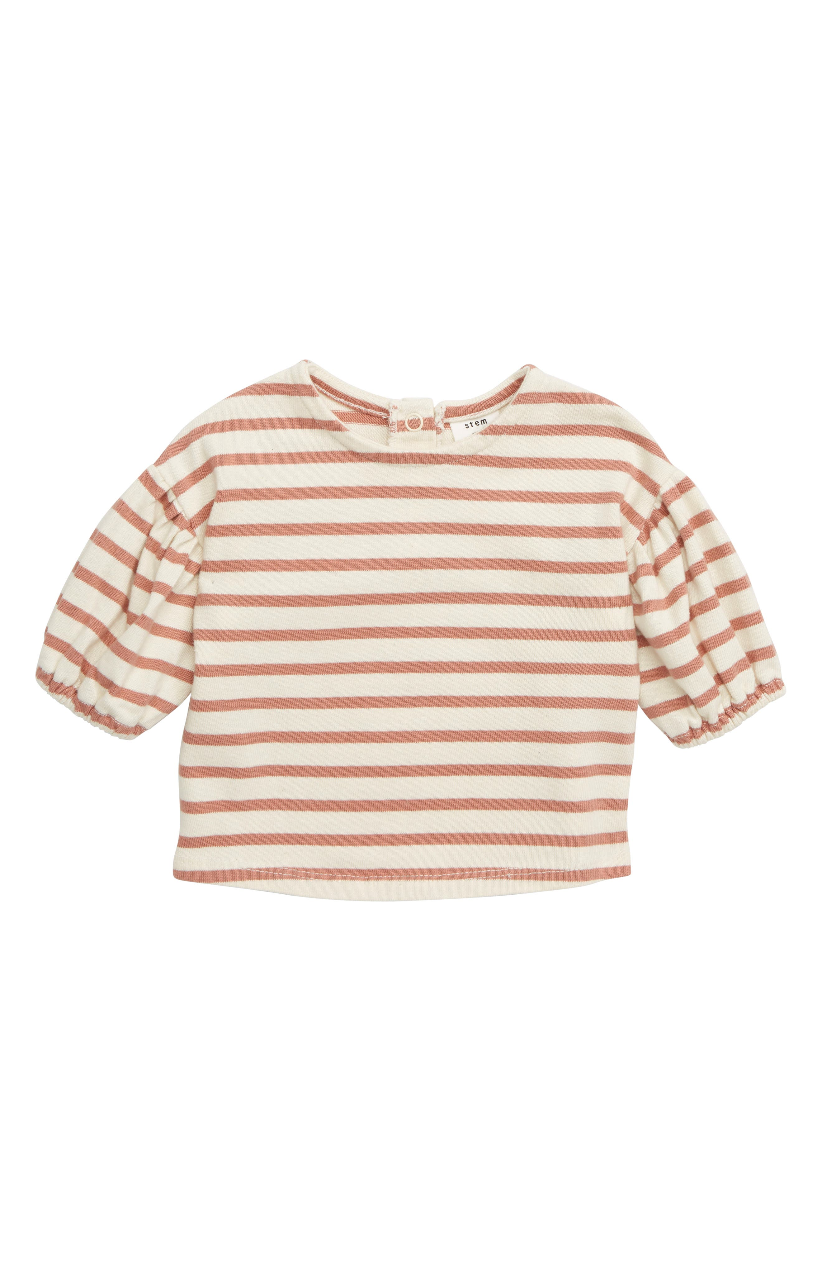 new Bundle Of 3 Baby Girl 3-6 Mths 1 X Orange Dress 2 X Cream Tops Baby