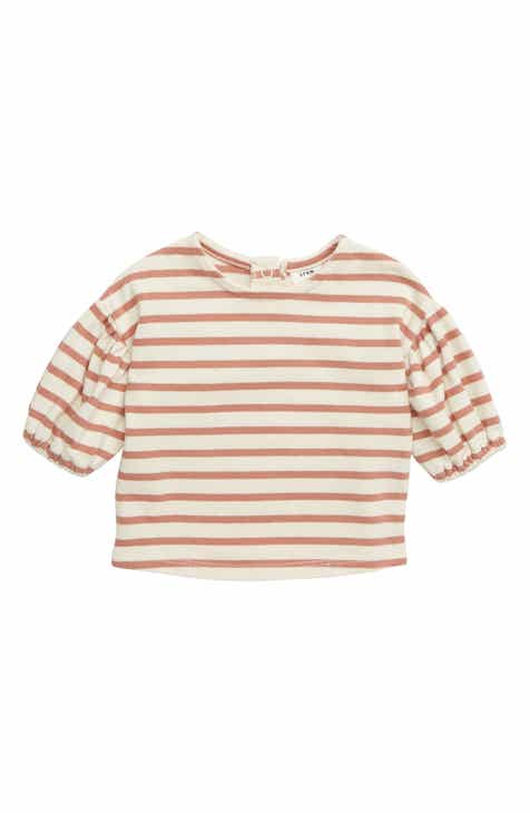 2ce3ca69a103a6 Stem Stripe Puff Sleeve Top (Baby)