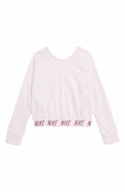d87dff32099 Nike Dry Studio Convertible Pullover (Big Girls)
