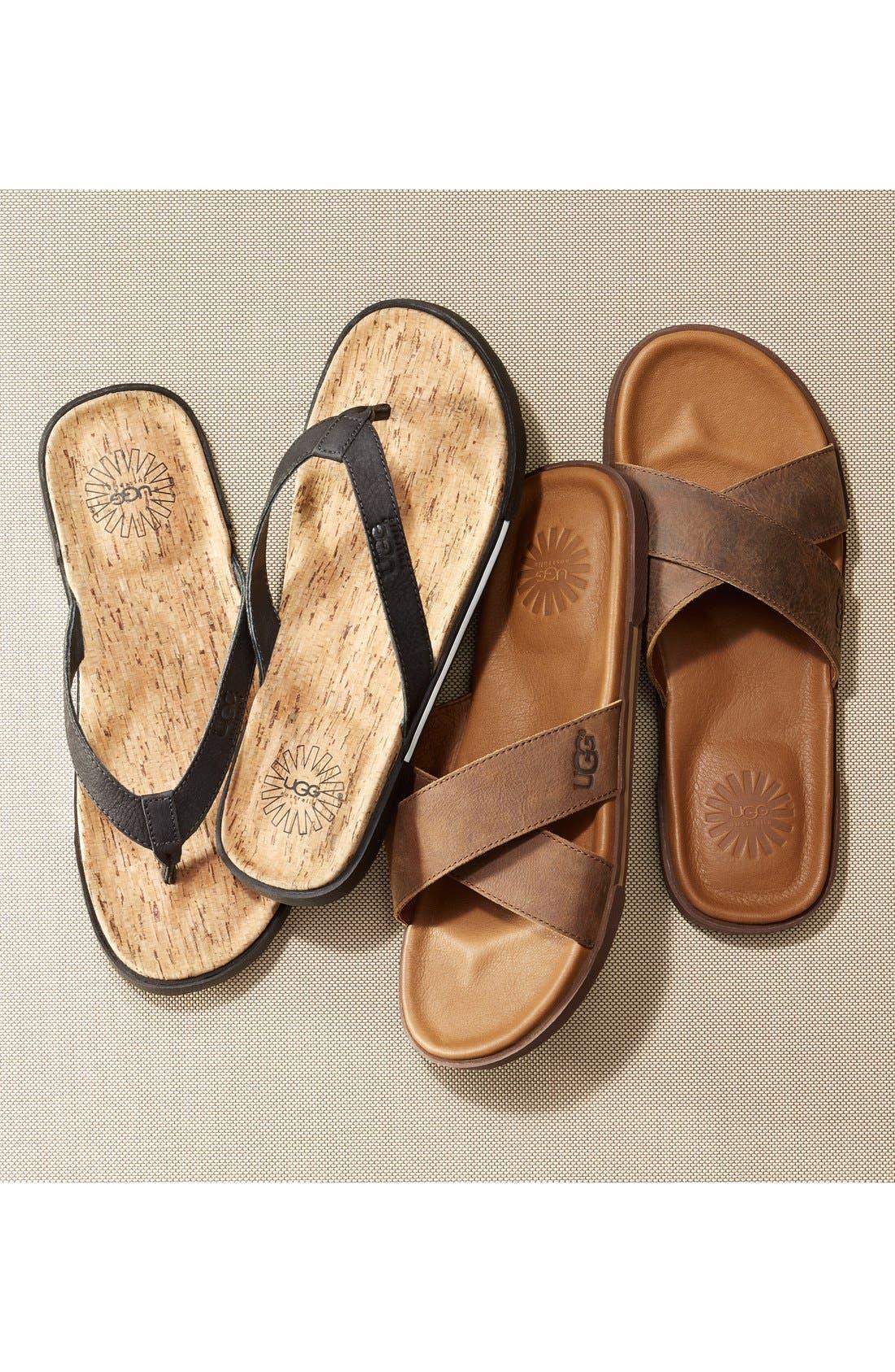 Alternate Image 5  - UGG® 'Ithan' Slide Sandal (Men's)