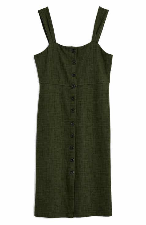b0787b7cac Madewell Texture   Thread Button Front Dress (Regular   Plus Size)