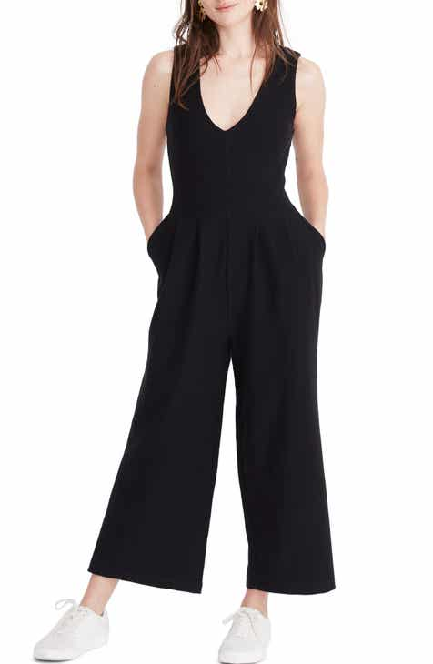 Madewell Texture & Thread Wide Leg Jumpsuit by MADEWELL