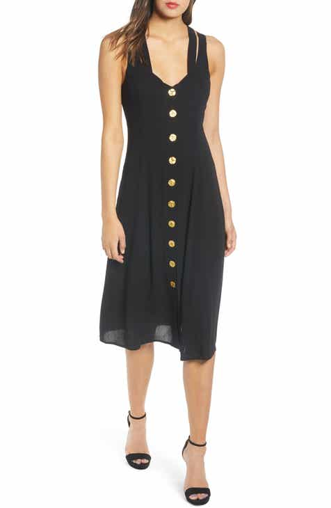 Row A Button Front Dress by ROW A