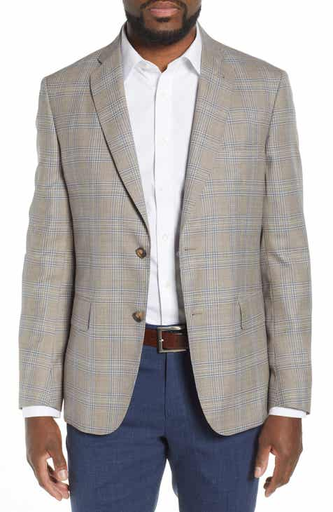 2c1d613ece8fc John W. Nordstrom® Traditional Fit Plaid Wool Sport Coat