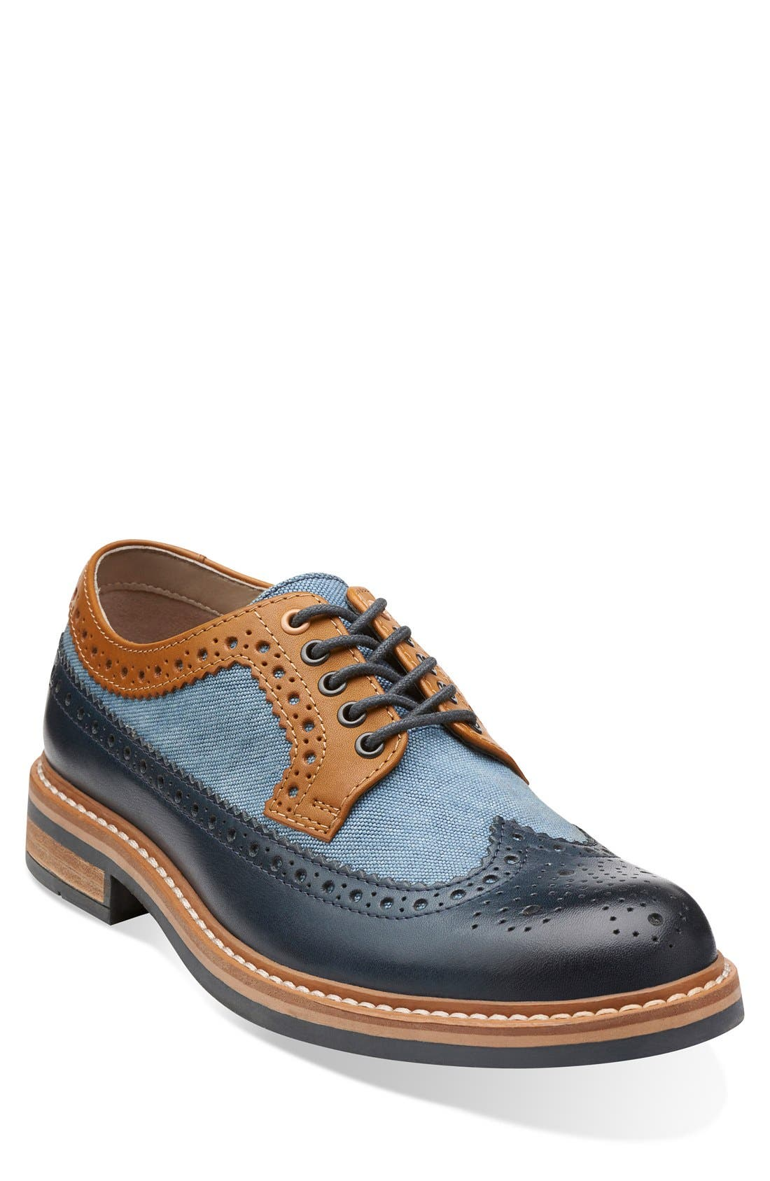 Clarks<sup>®</sup> 'Darby Limit' Spectator Shoe,
