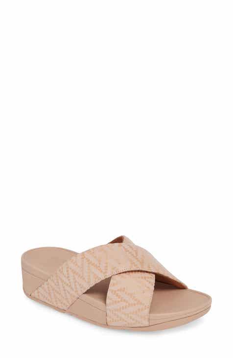 e02df84cd8ac FitFlop Lulu Chevron Slide Sandal (Women)