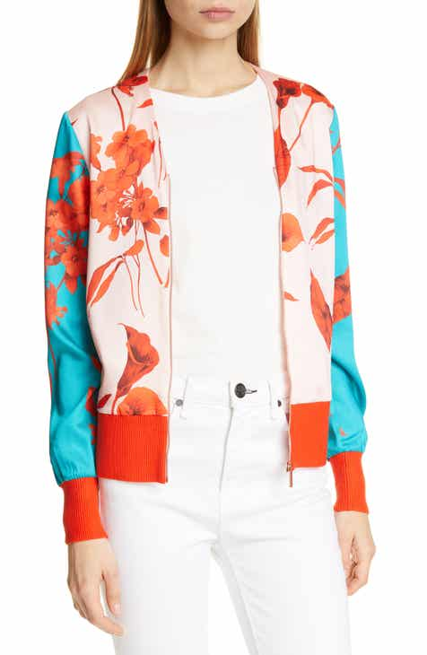 Ted Baker London Cortnee Fantasia Bomber Jacket by TED BAKER LONDON