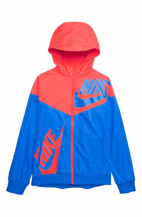 f5a1b6b0140a Nike Sportswear Windrunner Zip Jacket (Little Boys   Big Boys)