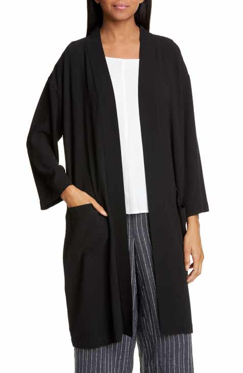 Eileen Fisher Silk Jacket (Regular & Petite) by EILEEN FISHER