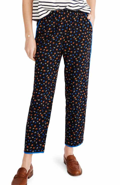 Madewell Prairie Posies Track Trousers by MADEWELL