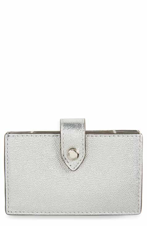 6292395ec4b3 Rebecca Minkoff Accordion Leather Card Case