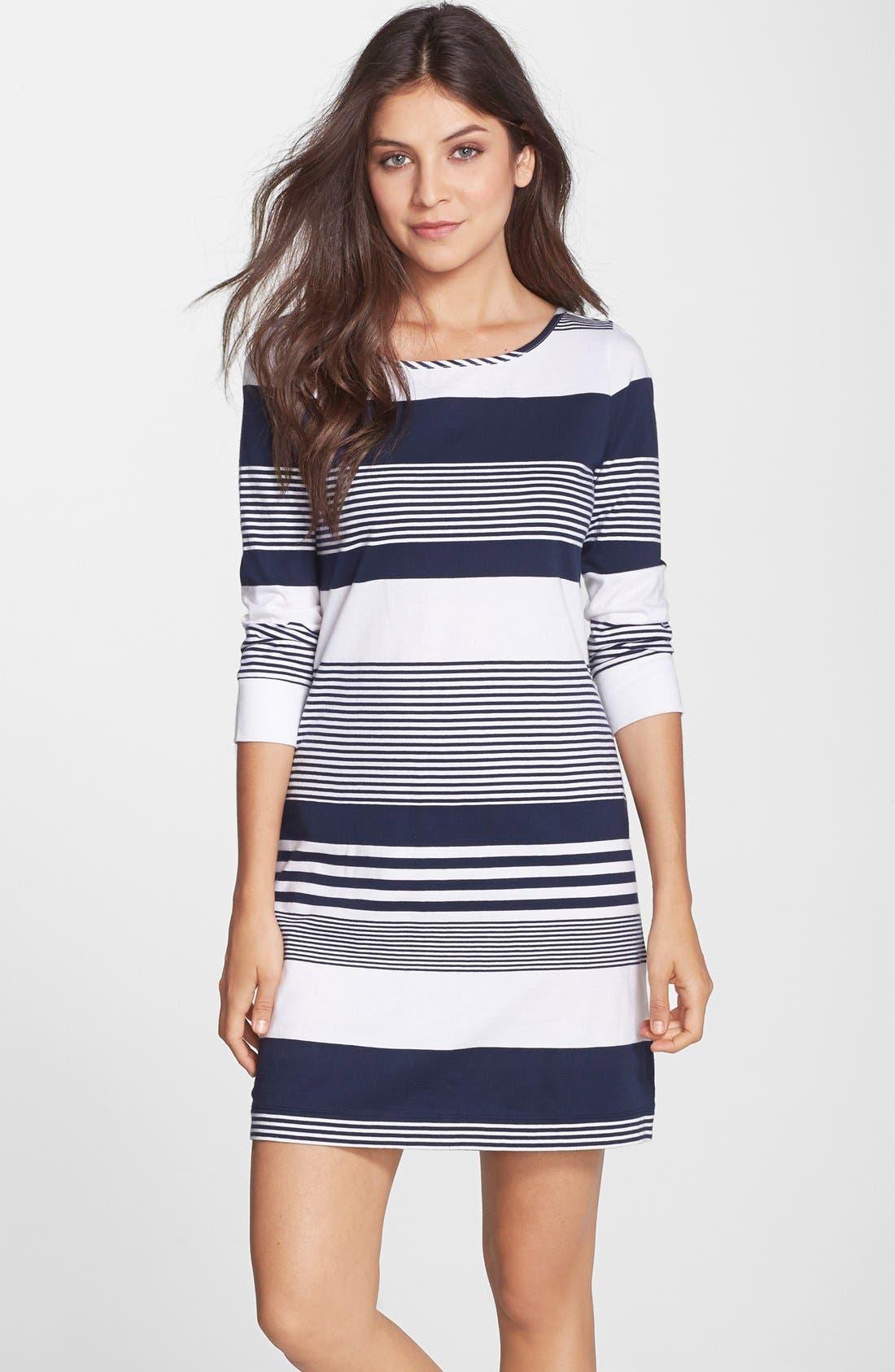 Main Image - Lilly Pulitzer® Marlowe Stripe Pima Cotton Shift Dress