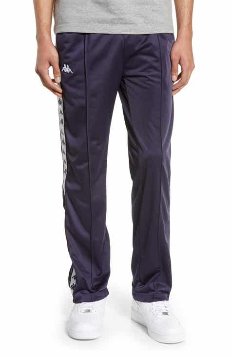 99022560176 Kappa 222 Banda Astoriazz Slim Fit Side Snap Track Pants