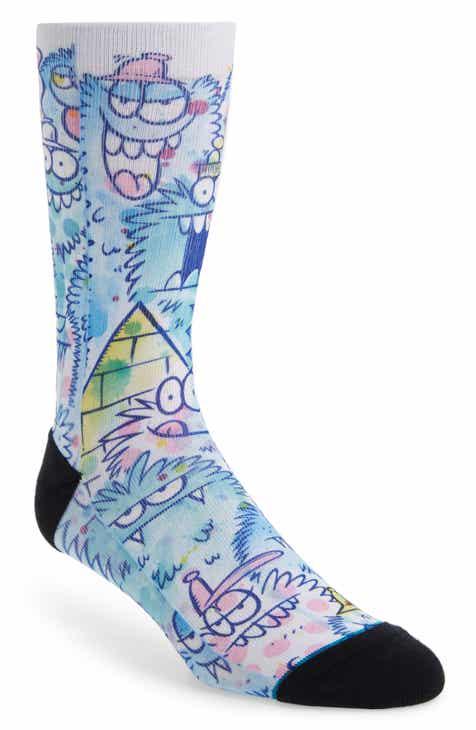 b8729f92698 Stance Kevin Lyons Watercolor Socks