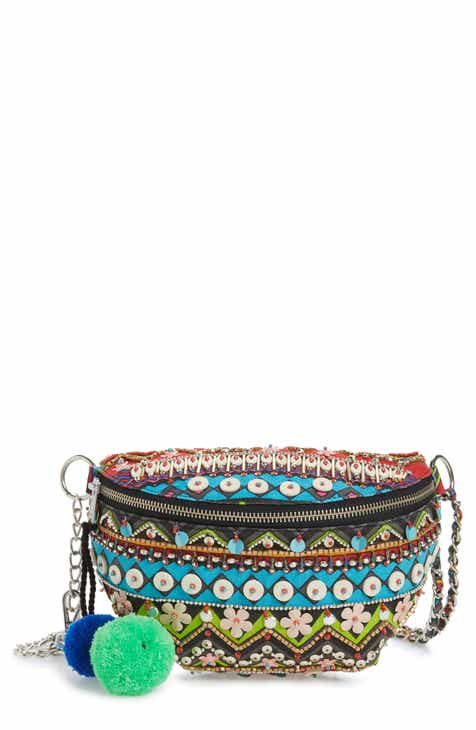 52f3270384b Steve Madden Beaded Convertible Belt Bag