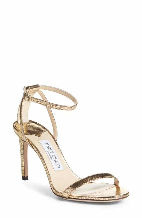 228480242ea Jimmy Choo Minny Metallic Sandal (Women)