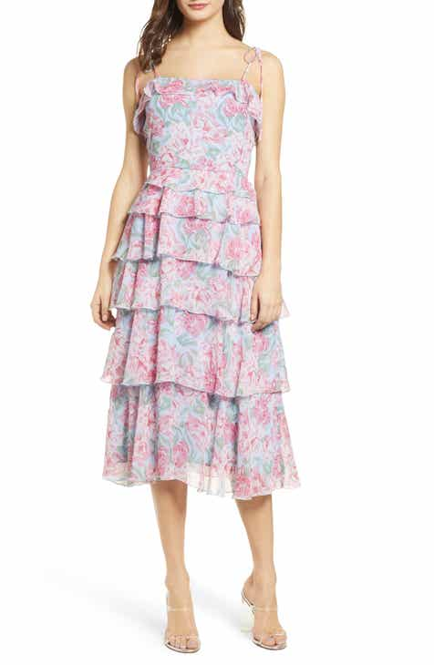 WAYF Essie Tiered Dress by WAYF