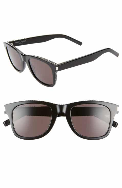d3d494ef206ac Saint Laurent 50mm Studded Square Sunglasses
