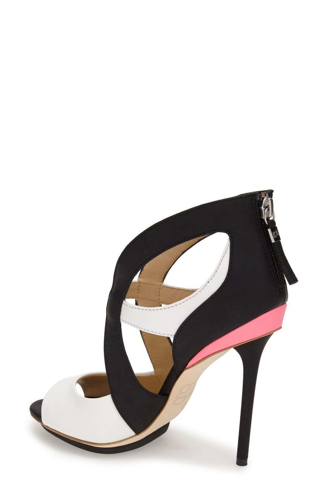 Alternate Image 2  - gx by Gwen Stefani 'Dart' Colorblock Cutout Sandal (Women)