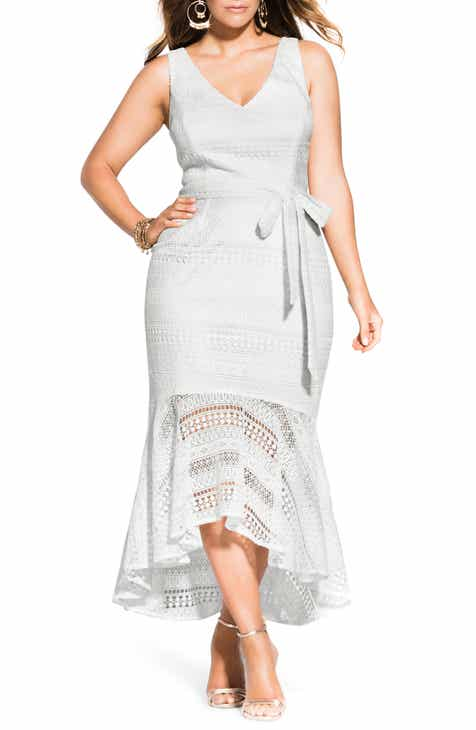 White Plus-Size Dresses | Nordstrom